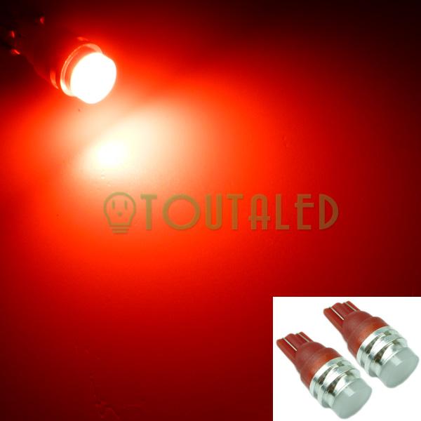 2x ampoule 12v t10 w5w 1 led cob rouge toutaled eclairage led t l phonie audio vid o bijoux. Black Bedroom Furniture Sets. Home Design Ideas