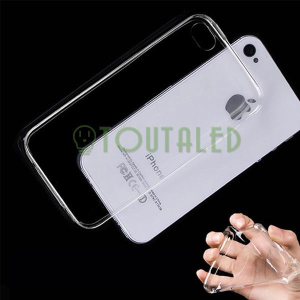coque protection souple tpu transparente apple iphone 4 4s envoi de france suivi ebay. Black Bedroom Furniture Sets. Home Design Ideas